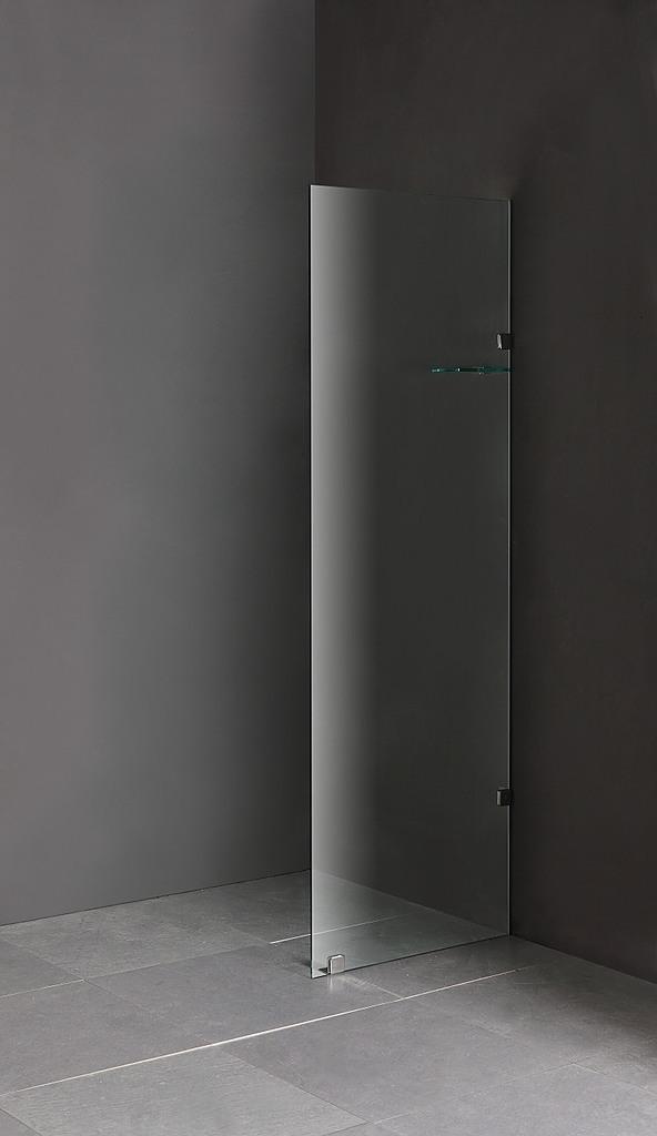 90 X 210cm Frameless Glass Shower Screen