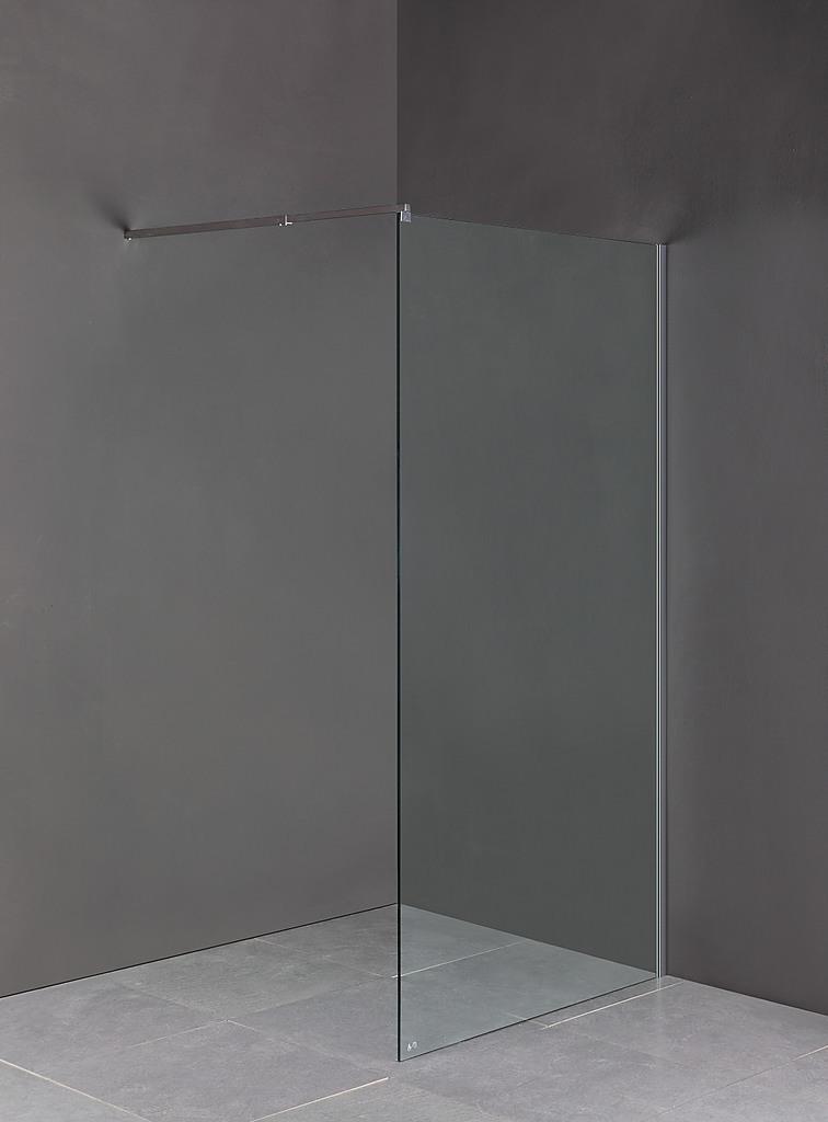 100 X 200cm Frameless Glass Shower Screen