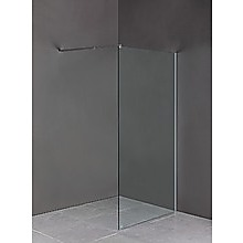 110 x 200cm Frameless 10mm Safety Glass Shower Screen