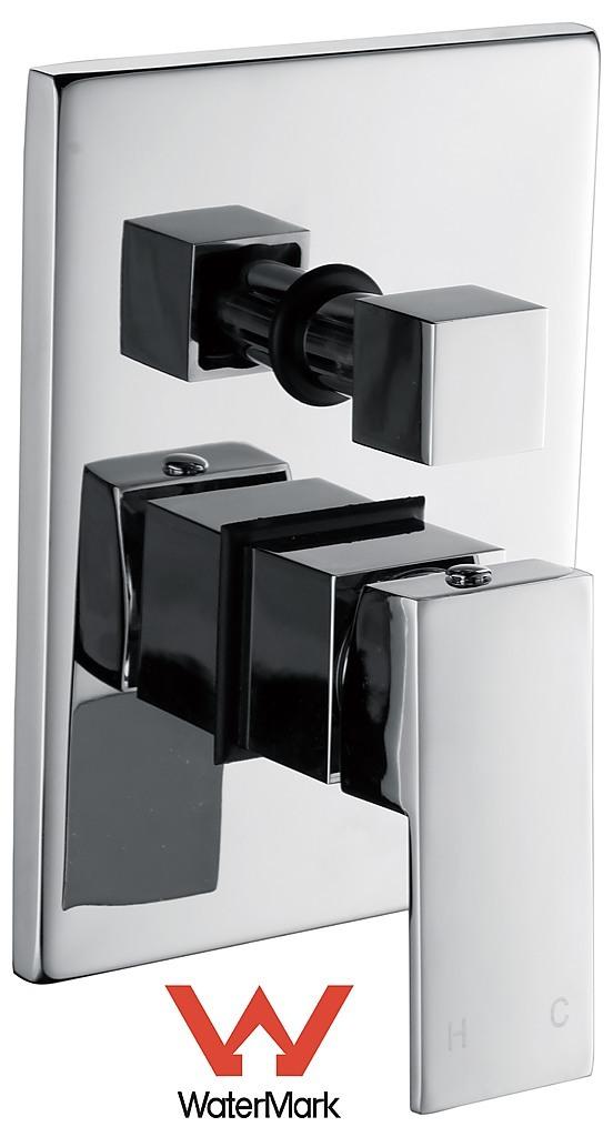 Chrome Bathroom Shower Wall Mixer Diverter W Watermark Diy Renovation Bathroom Mixers