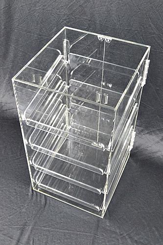 4 Tray Acrylic Bakery Display Cabinet