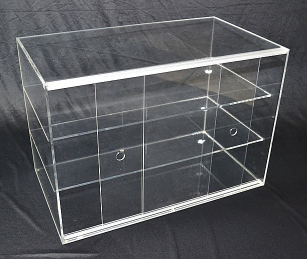 Large Cake Bakery Muffin Donut Pastry 5mm Acrylic Display Cabinet ...