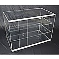 Large Cake Bakery Muffin Donut Pastry 5mm Acrylic Display Cabinet