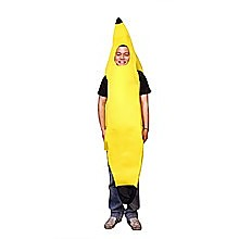 Yellow Banana One Size Fits all Adults Costume