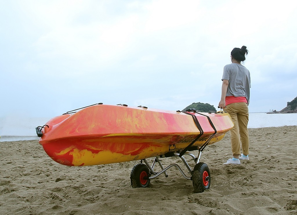 Aluminium Kayak Canoe Trolley Cart Outdoor Amp Leisure