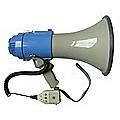 25W Megaphone PA System Loud Speaker Voice Recorder