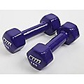 2kg Dumbbells Pair PVC Hand Weights PVC Coated