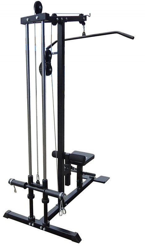 Lat Pulldown Low Row Fitness Machine Sports Amp Fitness