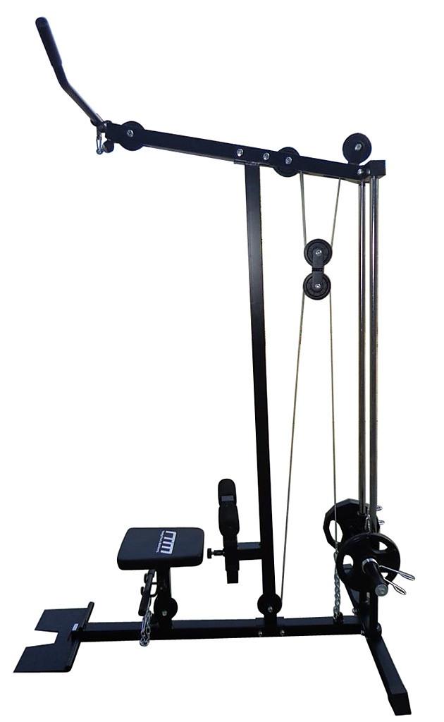Lat Pulldown Low Row Fitness Machine Sports Amp Fitness