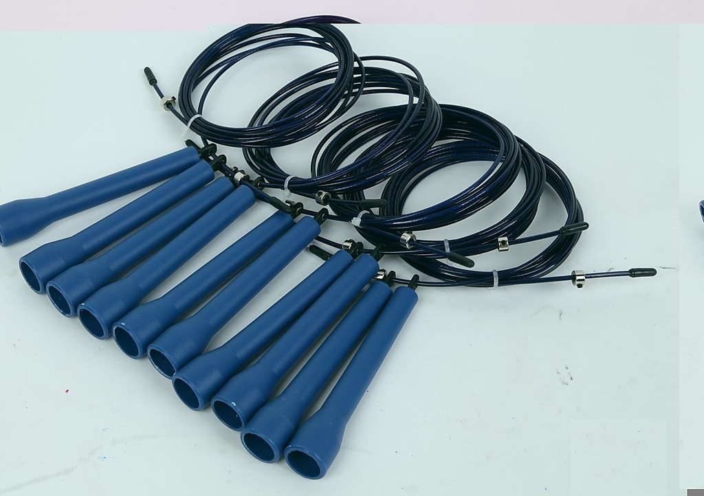5x Cross-Fit Speed Skipping Rope Wire Stamina Exercise Equipment