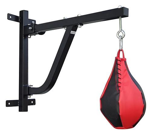 Boxing punching bag wall pivot rack sports fitness