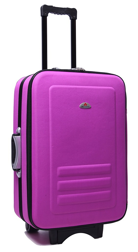 Purple 5pc Luggage Set