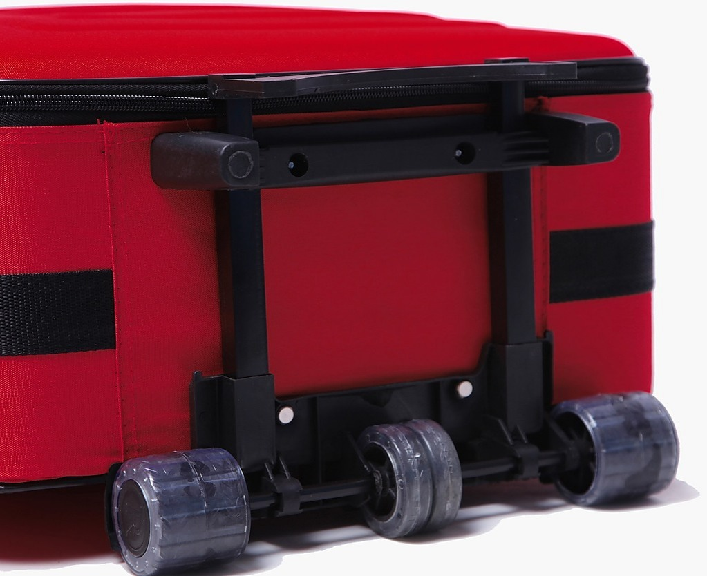 Red 5pc Luggage Set