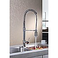 LED Kitchen Mixer Basin Tap Faucet Sink w/Extend