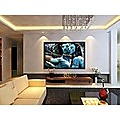 """120"""" Projector Screen Flat Fixed Frame"""