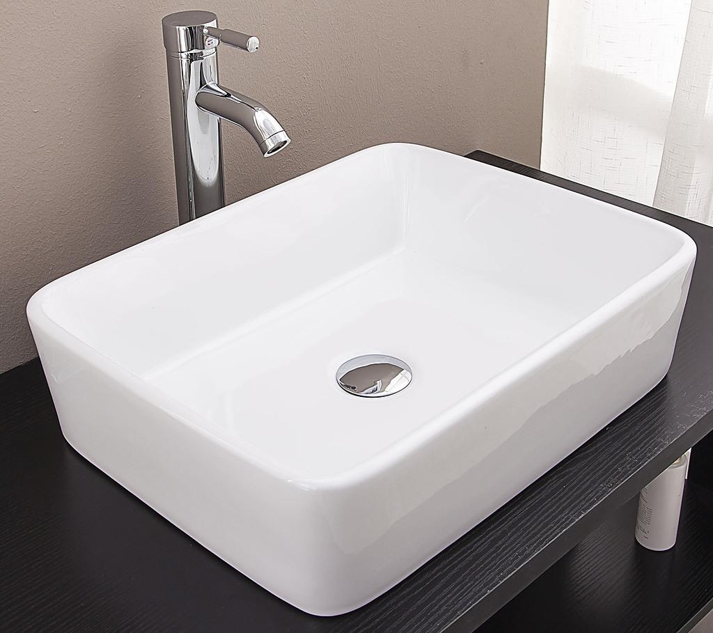 Above Counter Bathroom Vanity Square Basin Diy Renovation Bathroom Basins