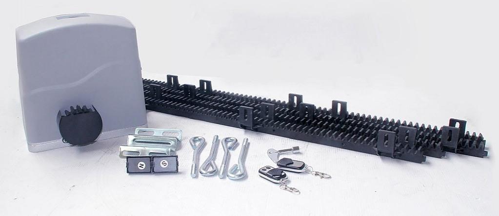 700kg auto slide sliding gate opener automatic w 4m rail for Electric motor for sliding gate