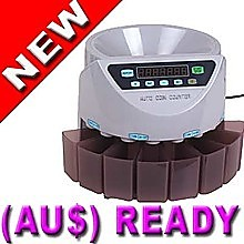 Australian Automatic Coin Counter & Money Cash Sorter