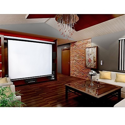 150 Quot Electric Motorised Projector Screen Tv Remote