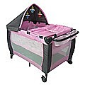 6in1 F&F Portable Baby Portacot Travel Cot - PINK
