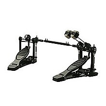 Woodstock Double Bass Drum Kick Pedal - Drum Set Accessory