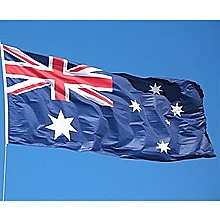 6.0m Flag Pole Full Set with Australian Flag