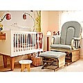 Glider Breast Feeding Rocking Chair w Ottoman -LIGHT