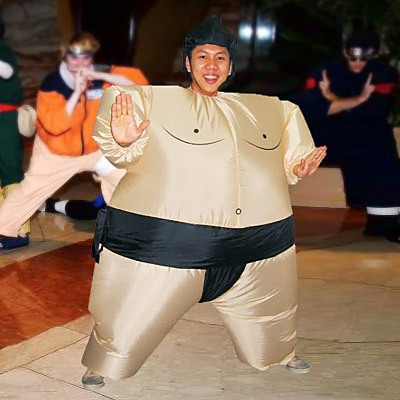 SUMO Fancy Dress Inflatable Suit -Fan Operated Costume ...  sc 1 st  FactoryFast & SUMO Fancy Dress Inflatable Suit -Fan Operated Costume - Games ...