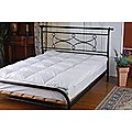 100% White Duck Feather Mattress Topper - King