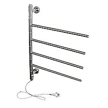 Electric Heated Bathroom Towel Rack S/Steel-50w