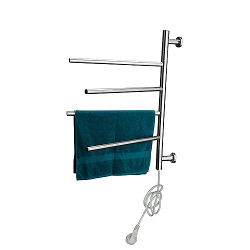 Electric Heated Bathroom Towel Rack S Steel 50w Home Lifestyle