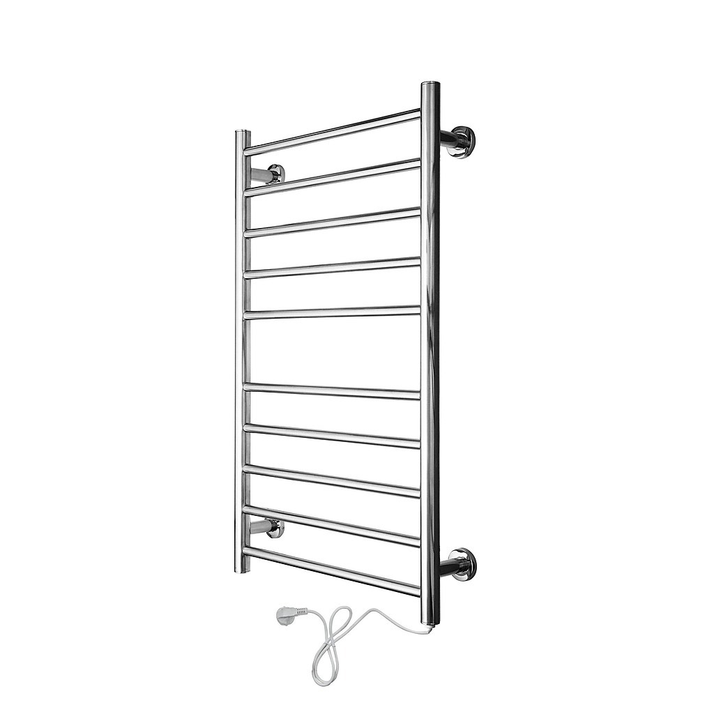Electric heated bathroom towel rack rails 100w diy for Bathroom towel racks