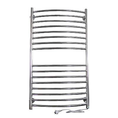 Electric heated bathroom towel rack rails 200w home lifestyle for Electric heated towel rails for bathrooms