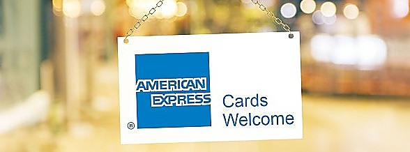 Now accepting Amex
