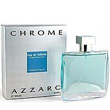 CHROME 100ml EDT SP by AZZARO